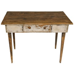Farm Table with Drawer