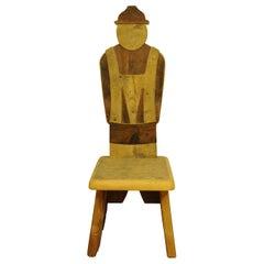 Farmer Boy Throne Chair