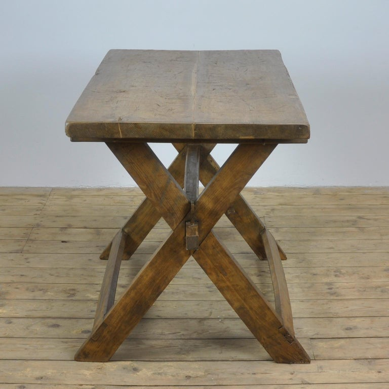 Farmers Work Table, 1930s For Sale at 1stdibs