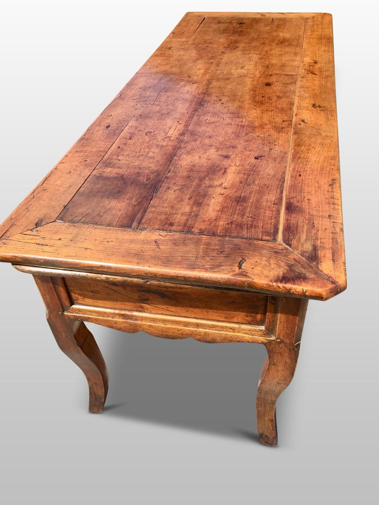 French Farmhouse Dresser / Server, Cherry wood, circa 1820 For Sale