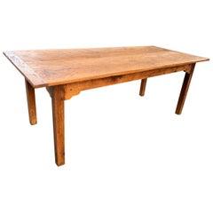Farmhouse Table, Chestnut, circa 1880