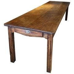 Farmhouse Table Elm Long