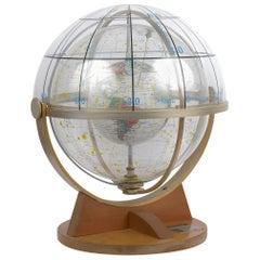 Farquhar Celestial Navigation Armillary Sphere Globe for Dept. of Navy