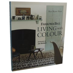 Farrow & Ball Living with Color Hard-Cover Decorative Vintage Book