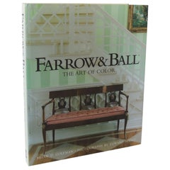 Farrow & Ball the Art of Color Vintage Hard-Cover Decorative Coffee Table Book