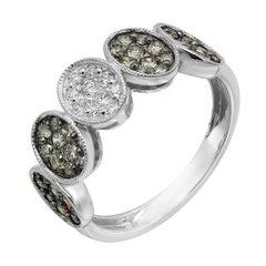 Fashion Diamond White Gold Ring