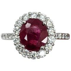 Ruby Fashion Rings