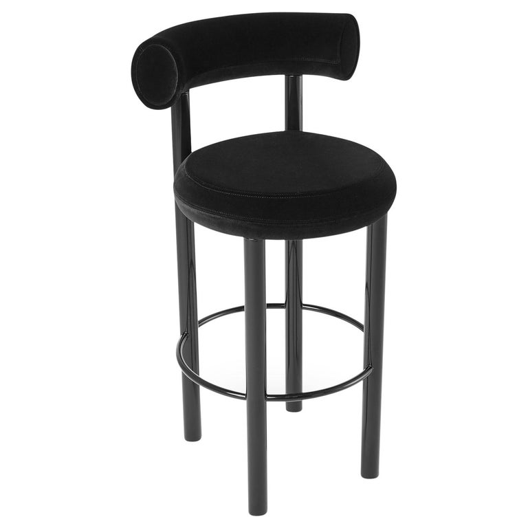Sensational Fat Barstool With Black Legs By Tom Dixon Cjindustries Chair Design For Home Cjindustriesco