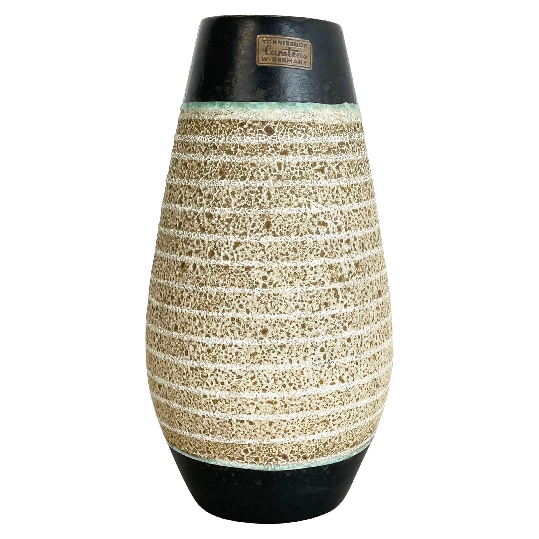 Fat Lava Ceramic Pottery Vase Heinz Siery Carstens Tönnieshof, Germany, 1960s