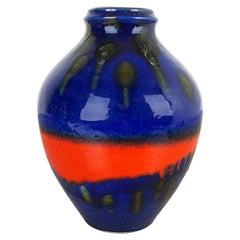 Fat Lava Ceramic Pottery Vase Heinz Siery Carstens Tönnieshof, Germany, 1970s