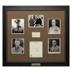 Fathers of the Air Service Authentic Signature Collage, circa 1926-1993