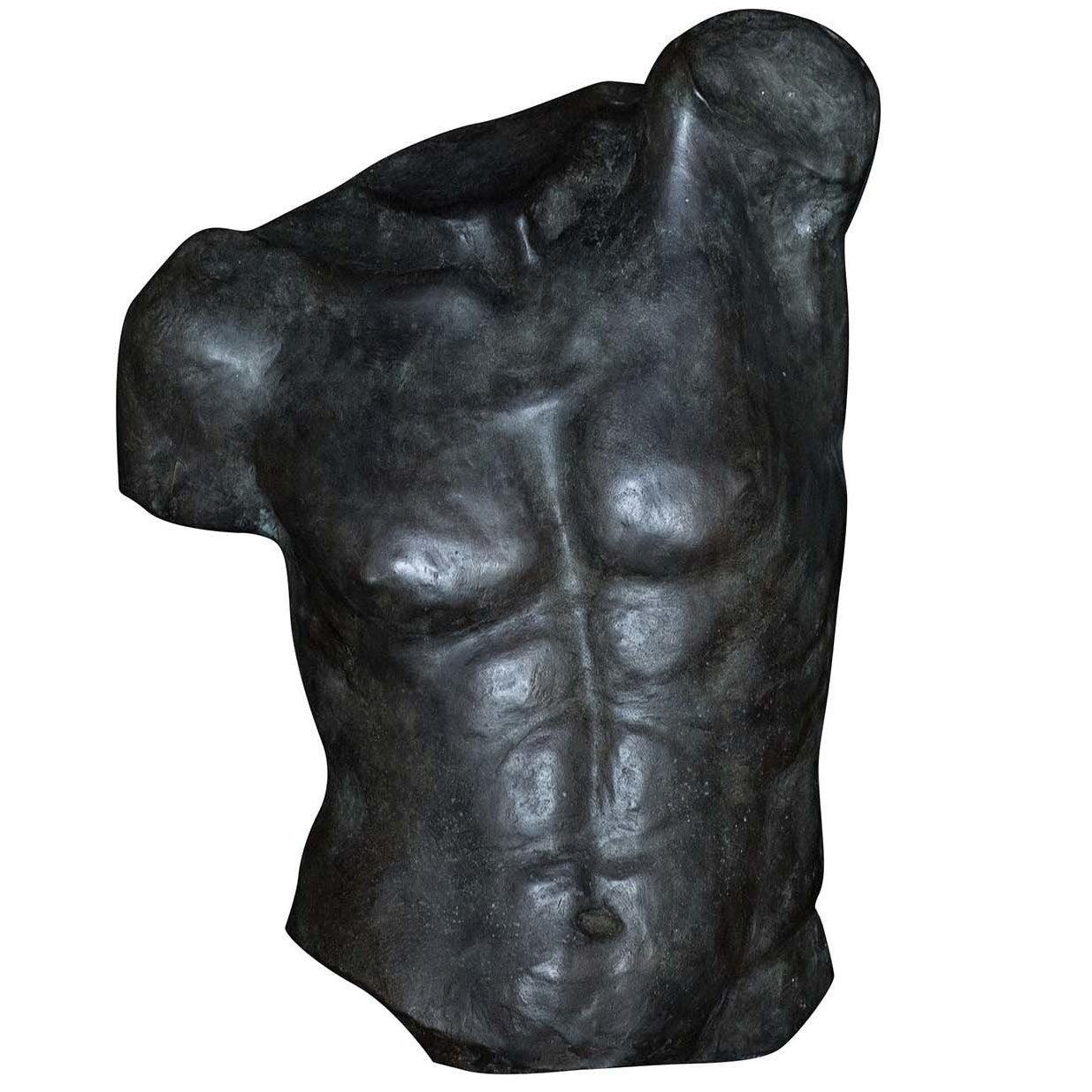 Fauno Torso Bronze Sculpture