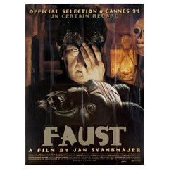 """""""Faust"""" 1994 French Grande Film Poster"""