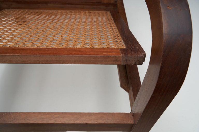 """""""Fauteuils de Paquebot"""" Chair, France, 1950s For Sale 7"""