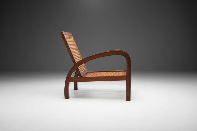 """Mid-Century Modern """"Fauteuils de Paquebot"""" Chair, France, 1950s For Sale"""