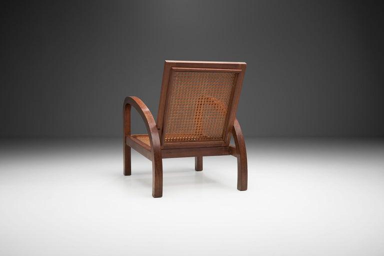 """French """"Fauteuils de Paquebot"""" Chair, France, 1950s For Sale"""