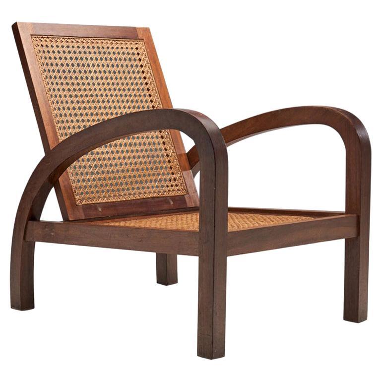 """""""Fauteuils de Paquebot"""" Chair, France, 1950s"""