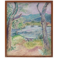 Fauvist Landscape Painting, circa 1970