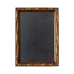 Faux Bamboo Brown Wood Photo Frame