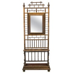 Faux Bamboo Hall Stand