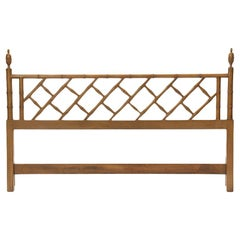 Faux Bamboo King Headboard