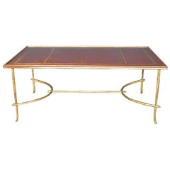 Faux Bamboo with Chinoiserie Coffee Table