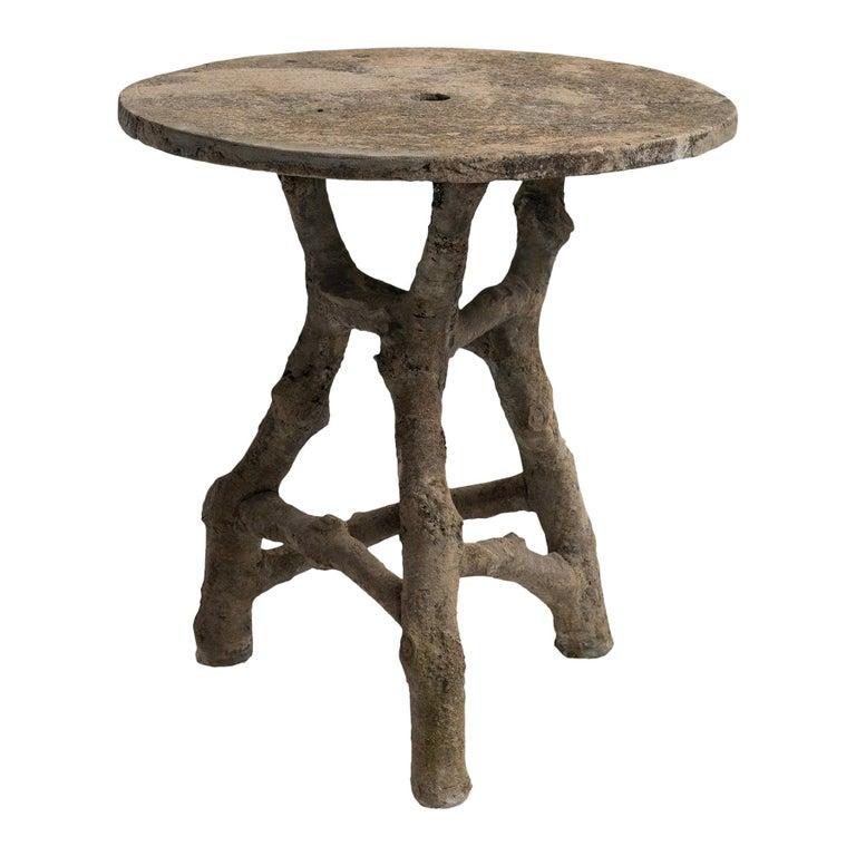 Faux Bois Table, France, circa 1950 For Sale