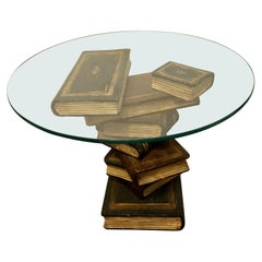 Faux Staggering Book End, Side or Sofa Table