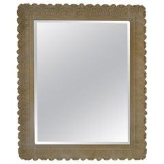 Faux Stone Mirror