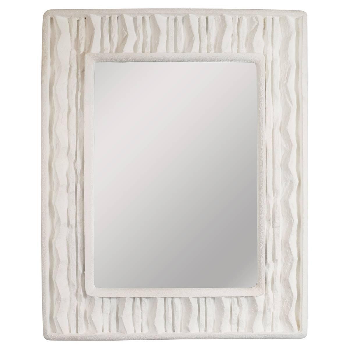 Faux Stone Surround Mirror