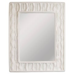 Faux Stone Surround Mirror