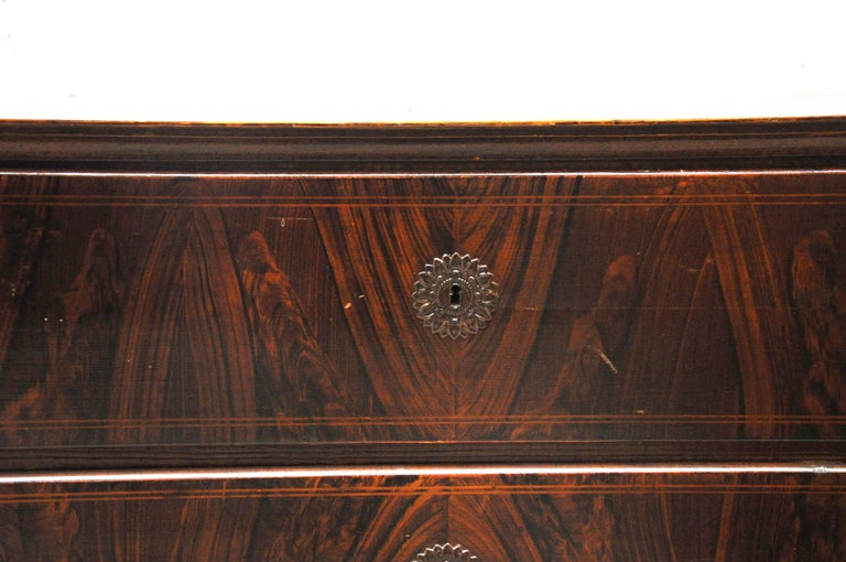 American Craftsman Faux Wood Grained Large Chest of Drawers For Sale
