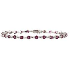 Favero 18 Karat Ruby Diamond Bracelet