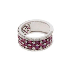 Favero Ruby and Diamond Ring