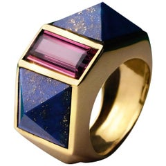 Favorite 1, Lapis-Lazuli and Tourmaline