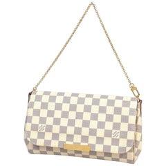 Favorite MM  handbag  Womens  shoulder bag N41275 Leather