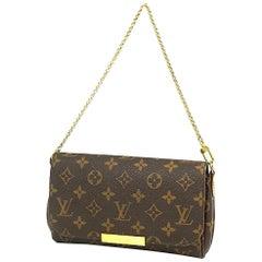 FavoritePM  leather w shoulder strap  Womens  shoulder bag M40717