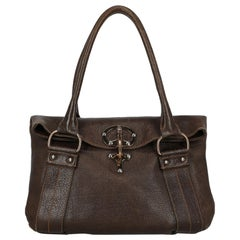 Fay Woman Shoulder bag Brown Leather
