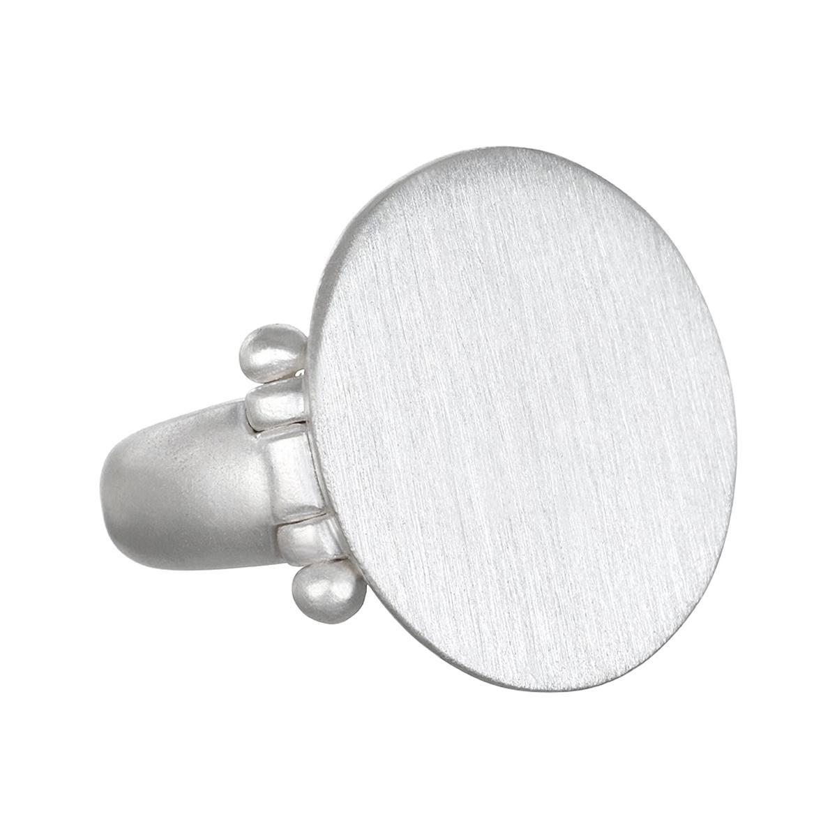 Faye Kim Sterling Silver Signet Ring