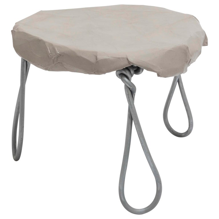 Maquette 264 / Wire & Card side table, 2020