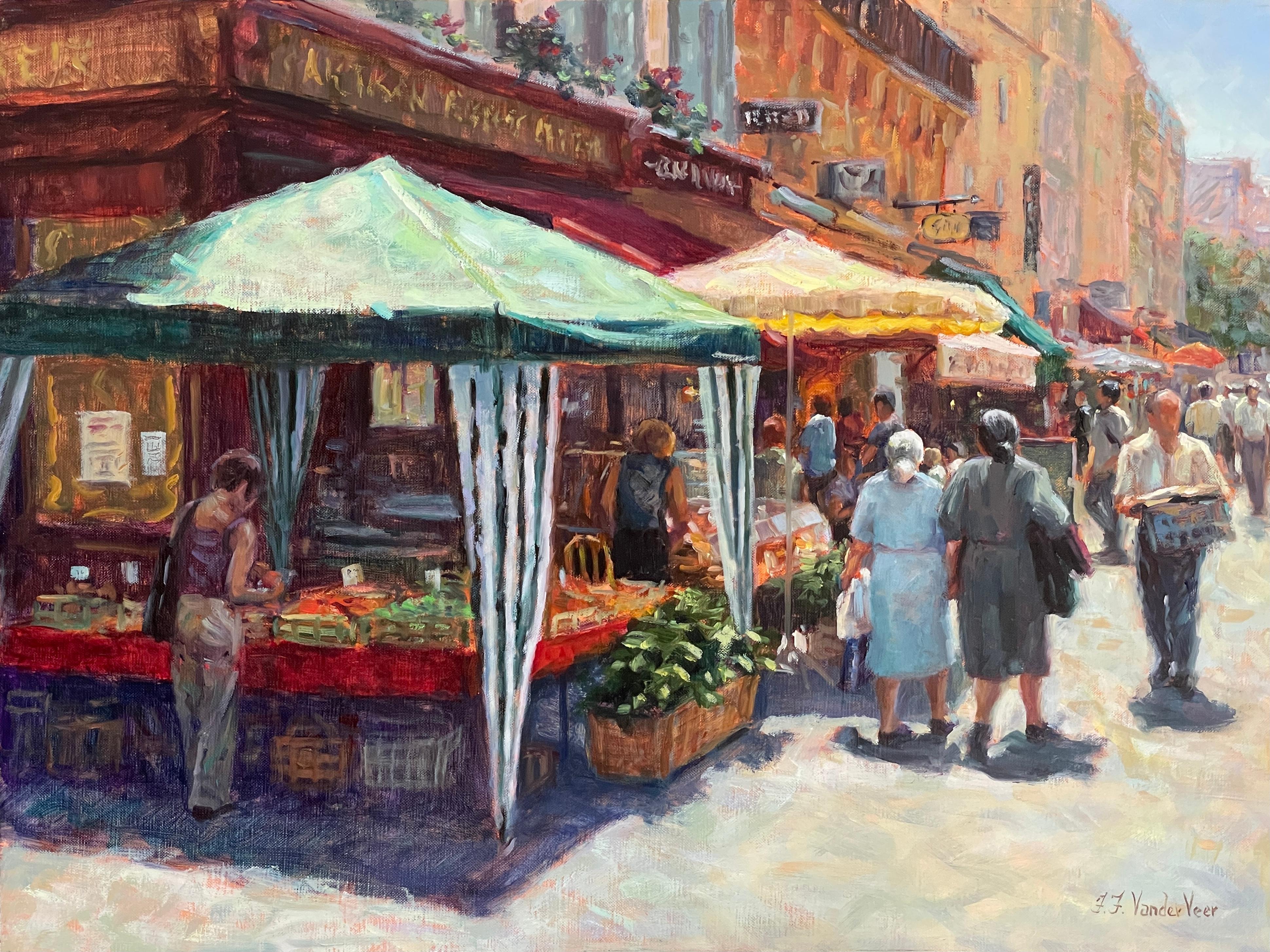 Le Marche, Oil Painting