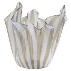 Fazzoletto Handkerchief Vase by Fulvio Bianconi