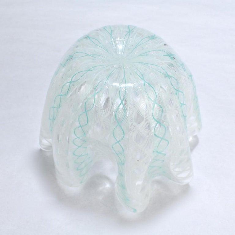 20th Century Fazzoletto Handkerchief Vase by Fulvio Bianconi & Paolo Venini for Venini Glass For Sale