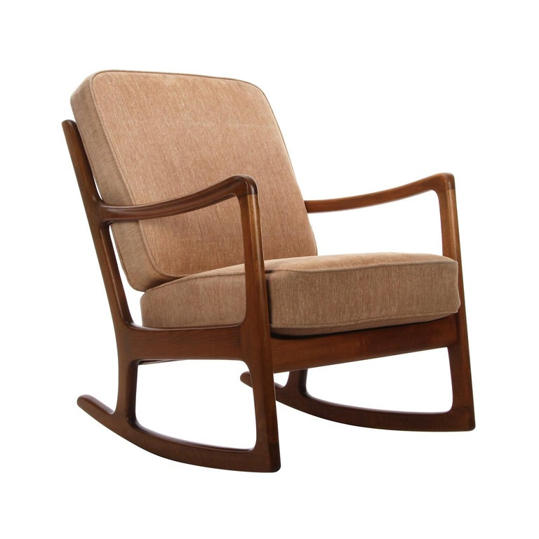 Fd 108 Rocking Chair By Ole Wanscher For France And