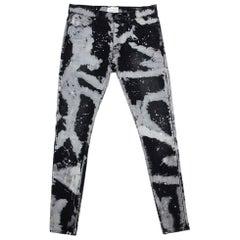 Fear of God X Maxfield Black Tie Dye Denim Skinny Jeans M