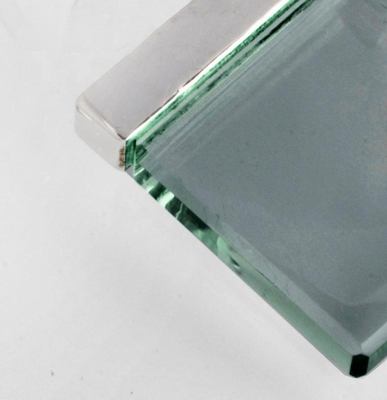 Feat in Vogue UA Designer Necklace with Emerald Color Green Quartz For Sale 1