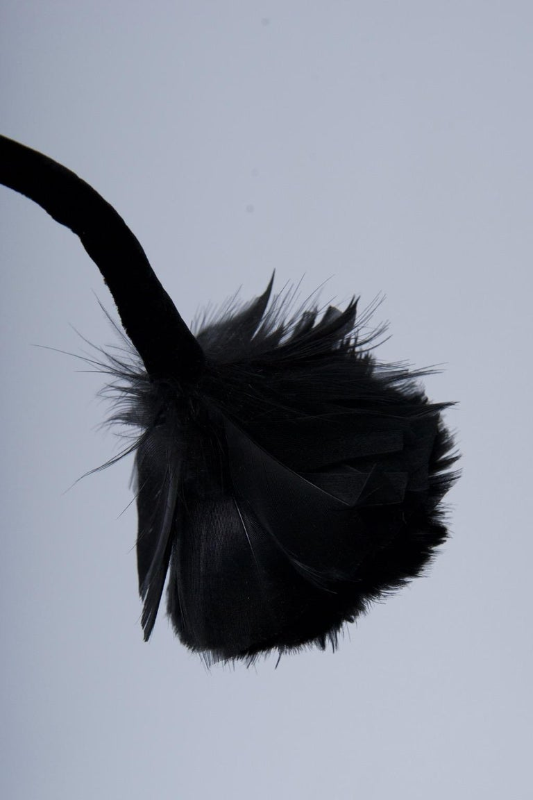 Women's Feather Hat with Tassel For Sale