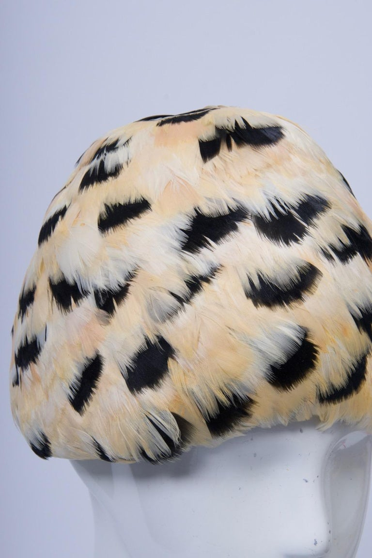Feather Hat with Tassel For Sale 4