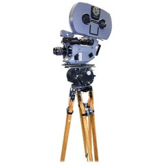 Feature Film Camera Used on UK James Bond Movies, MovieCam 1980s Working Example