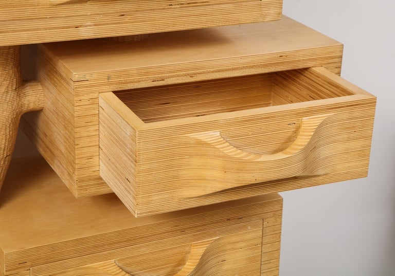 Contemporary Fedele Papagni Chest of Drawers For Sale